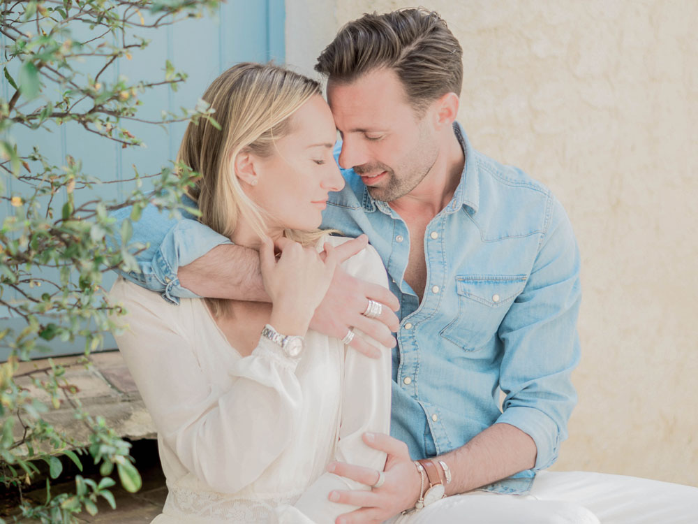 Séance engagement en Provence Sylvia Calmet Photgraphe