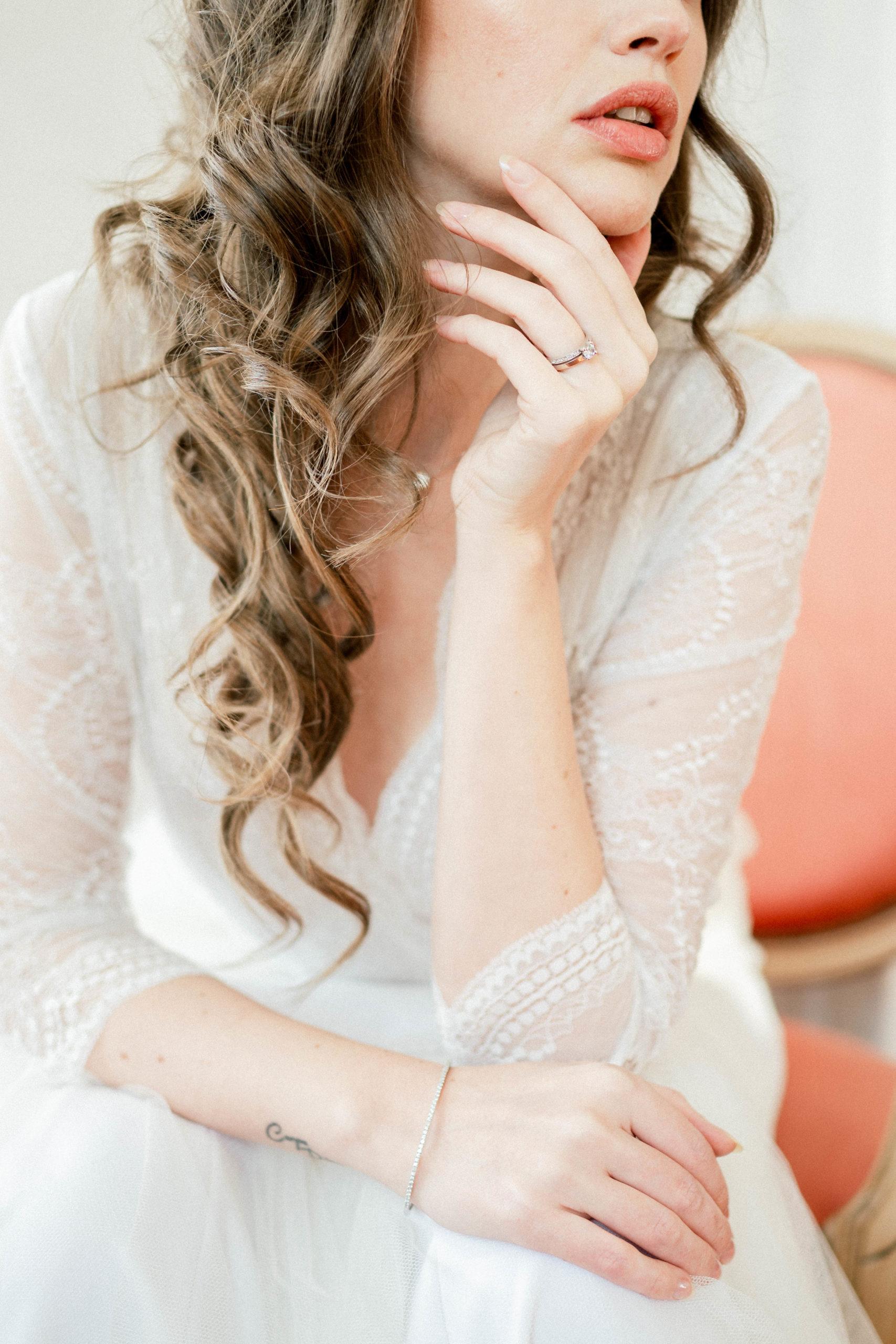 details bride to be sylvia calmet photographe
