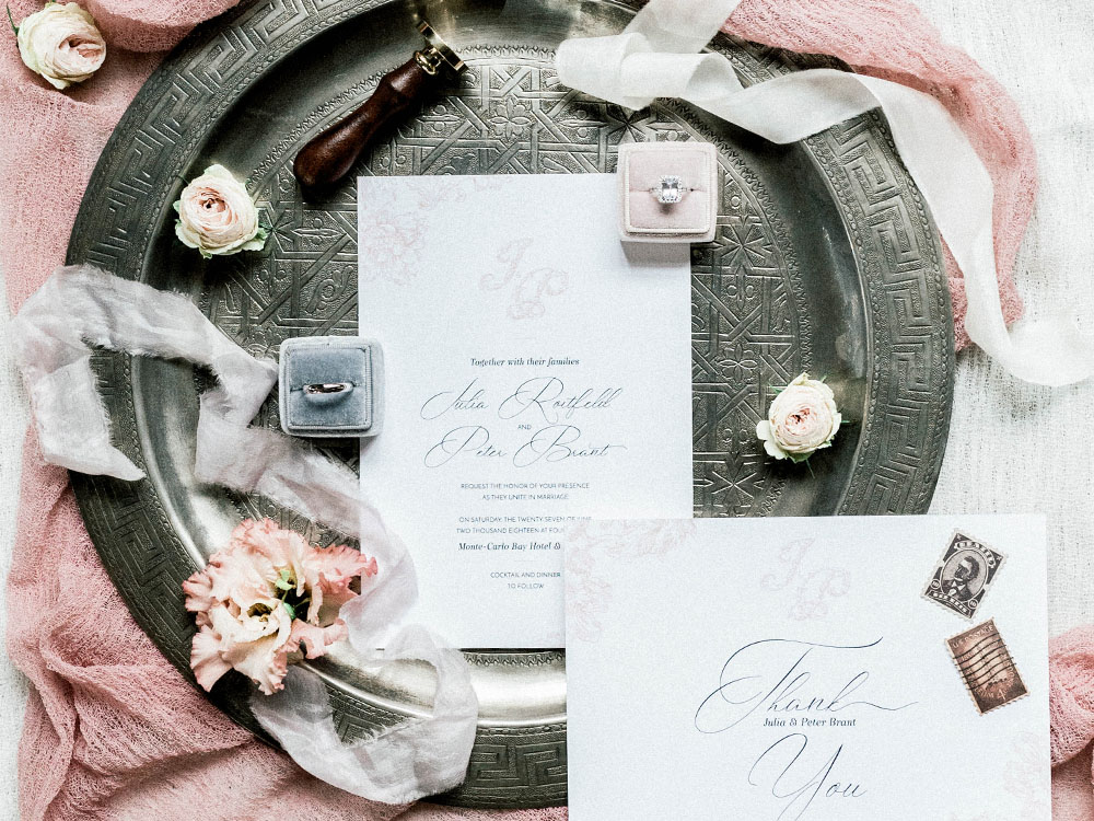 Sylvia Calmet Luxury flat lay wedding inspiration Provence