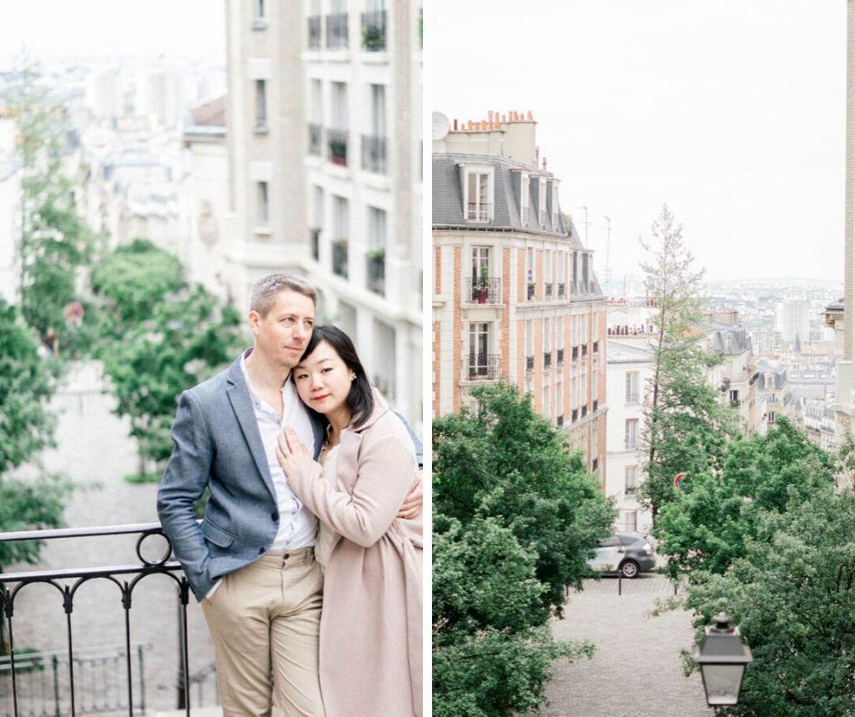 Amoureux dans Paris Sylvia Calmet photographe Provence