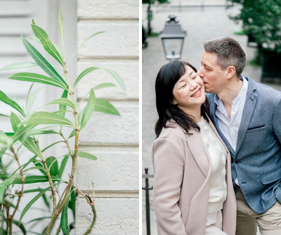 Lovers in Paris Sylvia Calmet fine art wedding phtography
