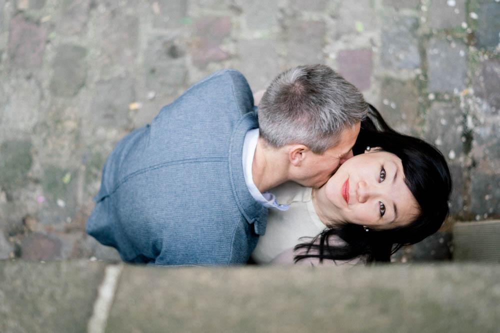 Séance couple amoureux dans Paris
