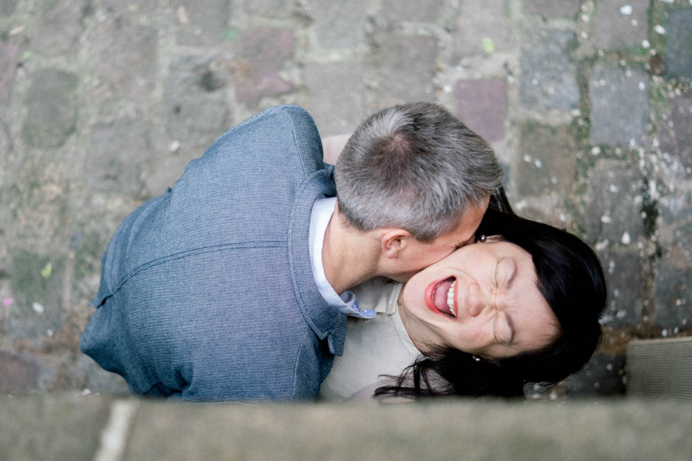 séance couple dans Montmartre