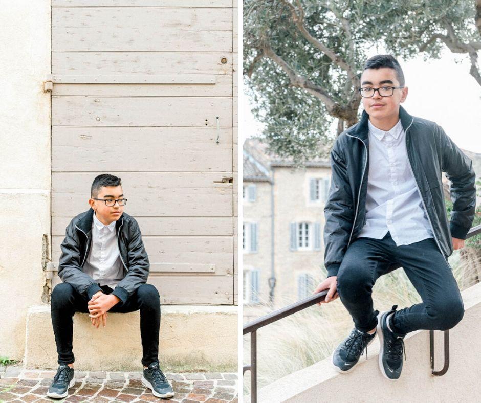 Portrait photos adolescent Salon de Provence Sylvia Calmet