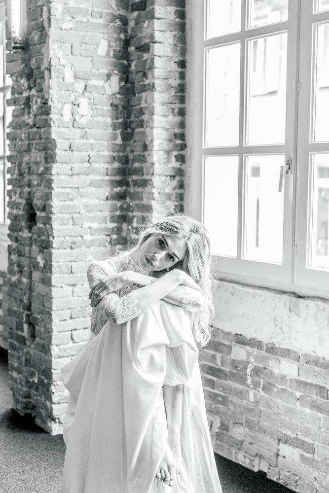 Model wedding inspiration Sylvia Calmet