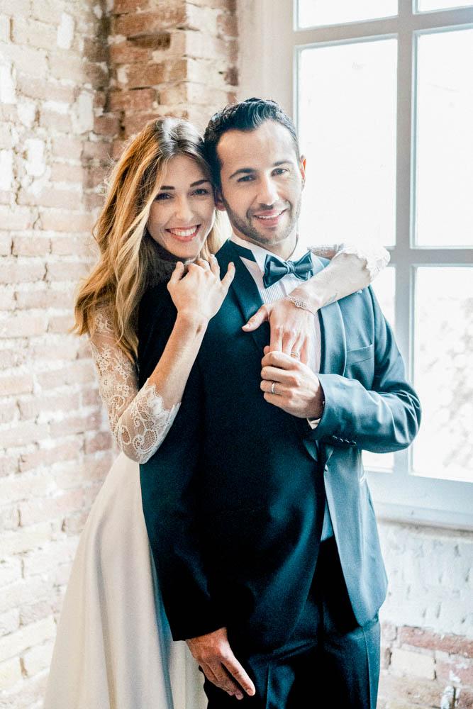 Couple luxury wedding inspiration Sylvia Calmet