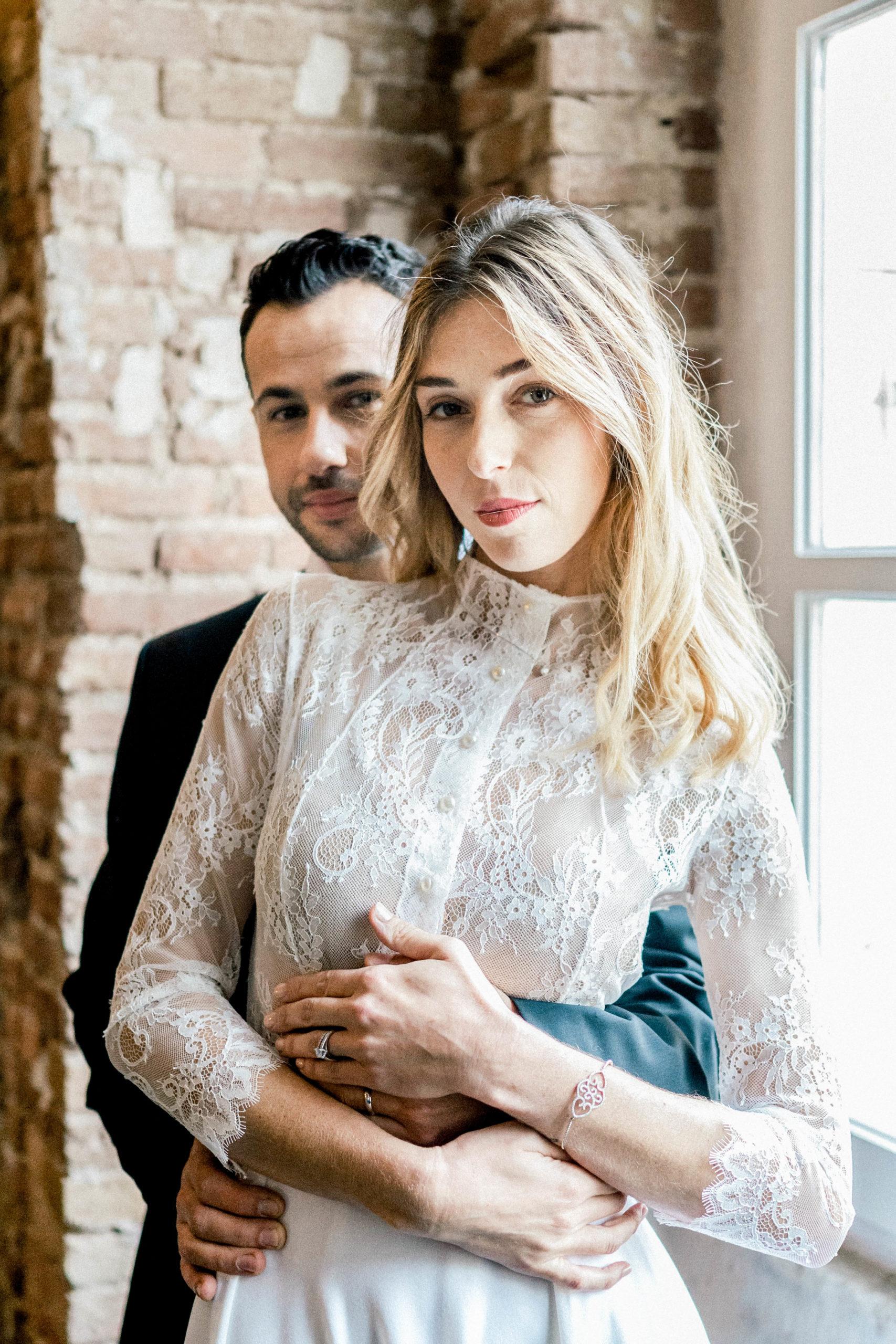 Luxury couple wedding inspiration Sylvia Calmet