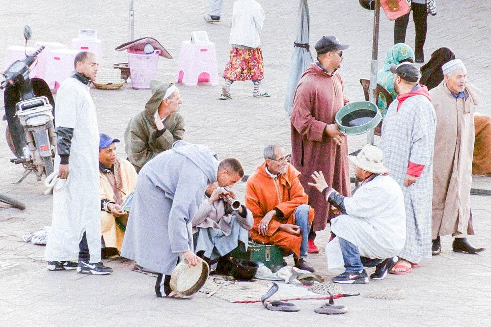 Place Marrakech Sylvia Calmet Photographe famille Maroc