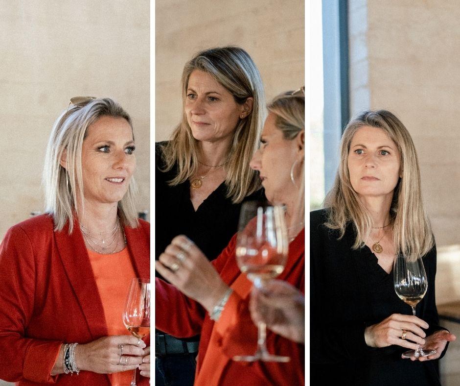 deux femmes dégustant du vin pour un EVJF en provence