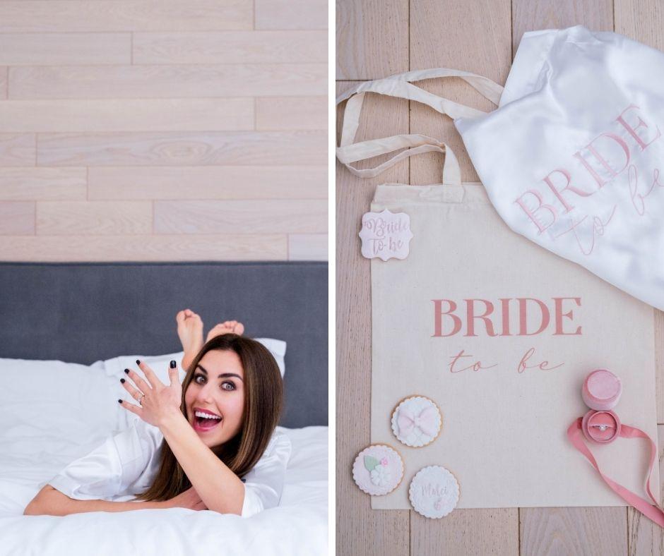 Bride to be in Provence by Sylvia Calmet