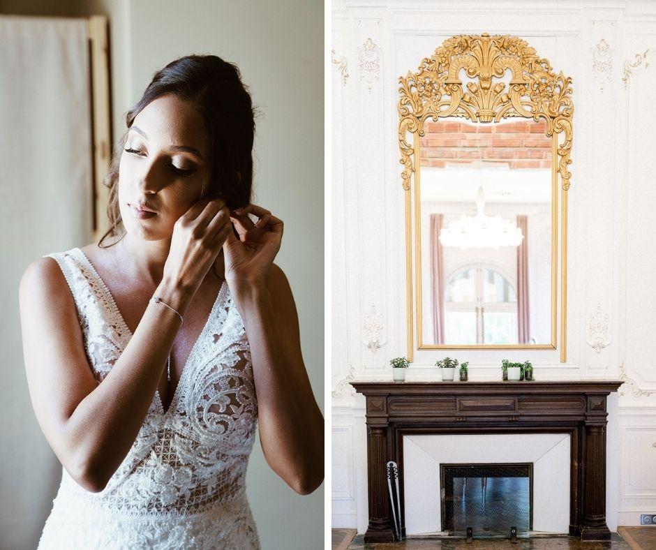 La mariée au domaine de Biar photographiée par Sylvia Calmet photographe de mariage en provence