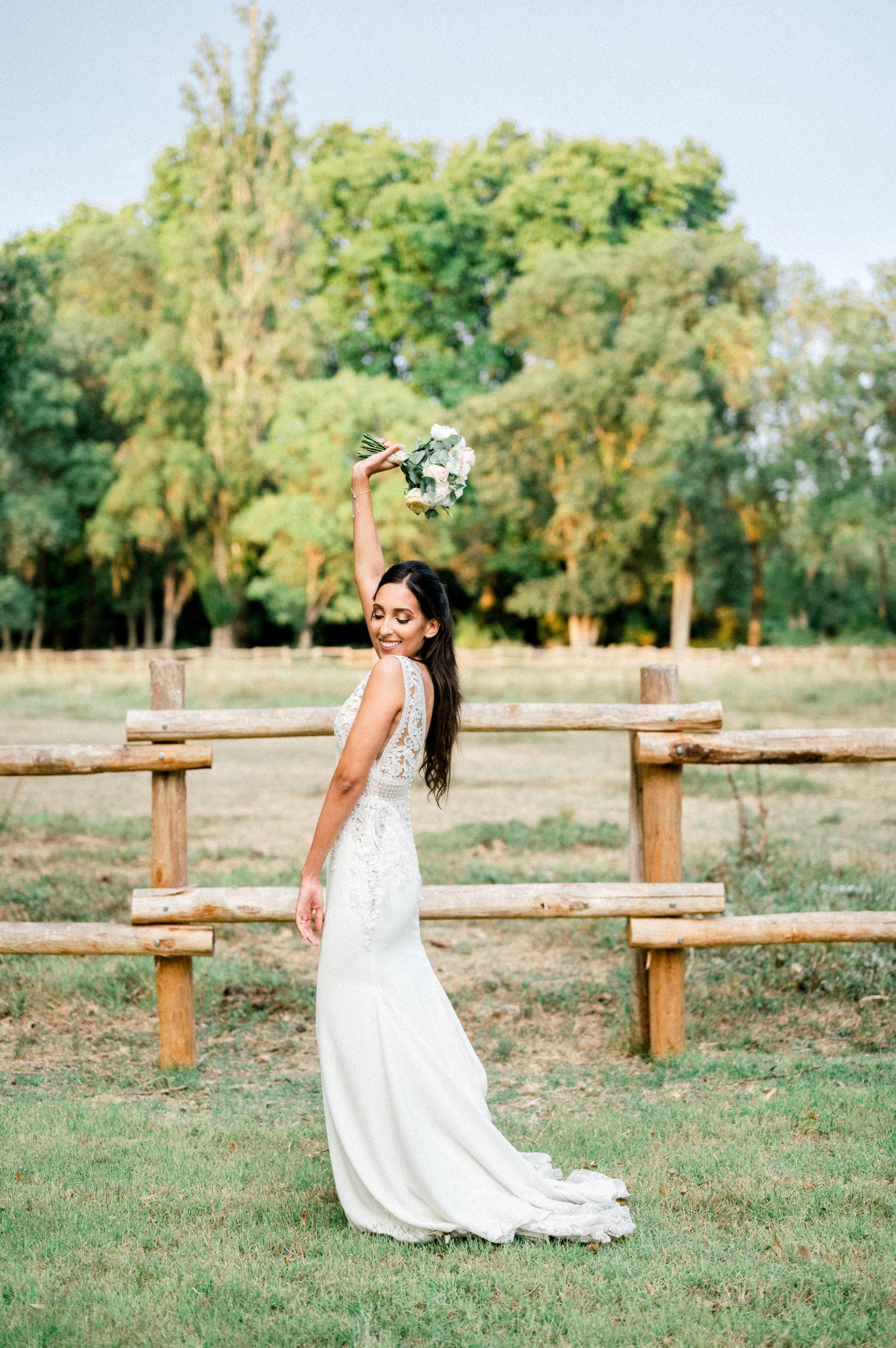 Mariée au domaine de Biar de Montpellier